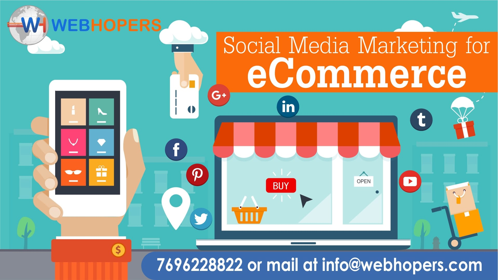 Social Media Marketing Services for eCommerce