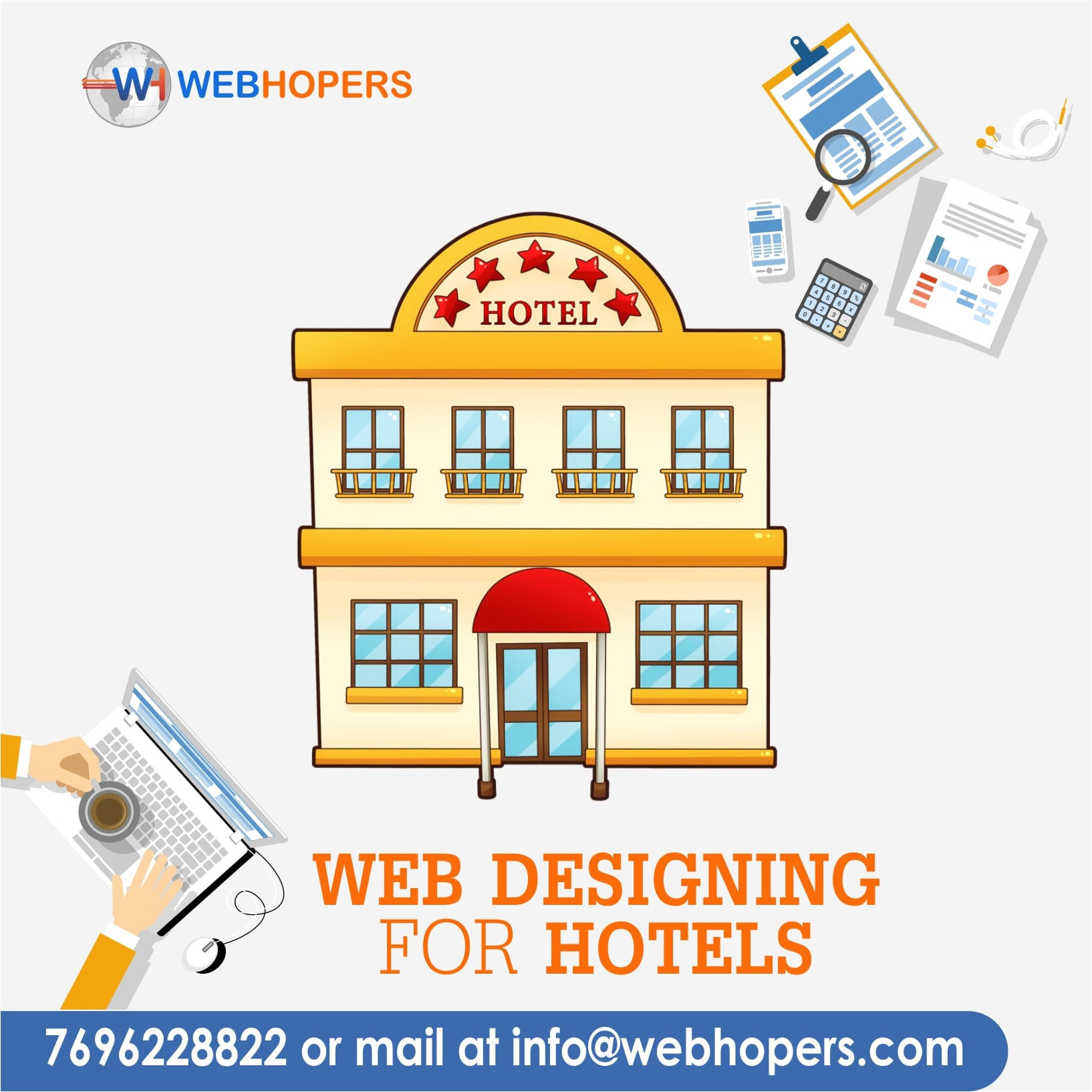 Web Designing for Hotel