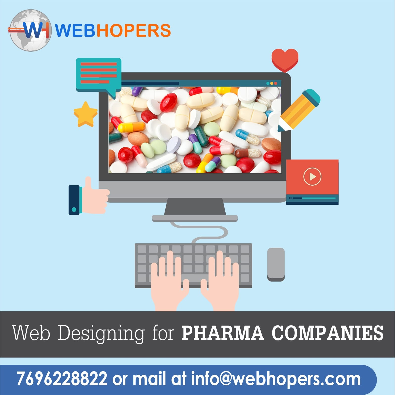 Pharma Website Designing Company