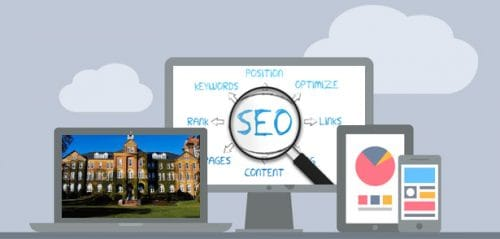 Online marketing services for colleges