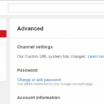 How To Get Custom URL In YouTube