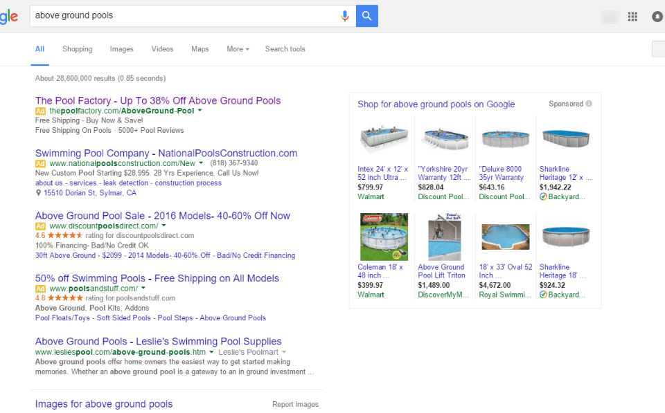 How Organic Rankings Effects When Google Remove Right Side Ads