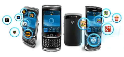 Blackberry App Development services