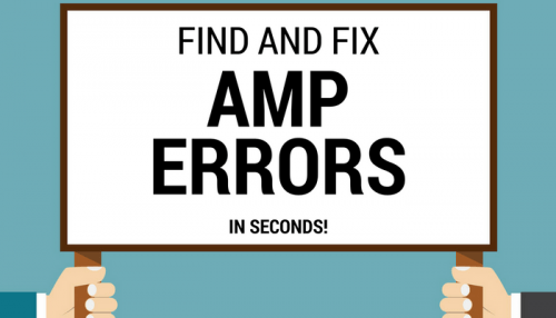 How to fix AMP errors