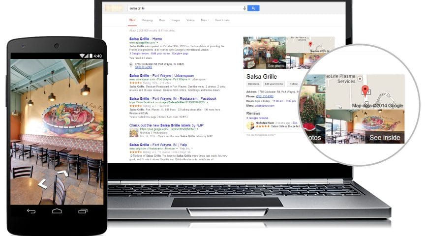 Google virtual tour services