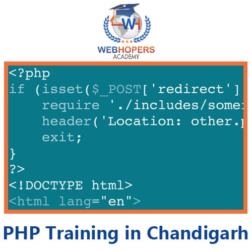 Top PHP Training Institute in Chandigarh